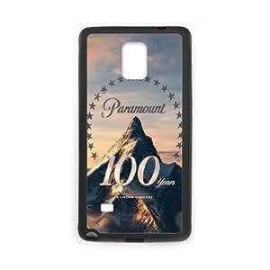 901 100Th Anniversary Logo L funda Samsung Galaxy Note 4 caja funda del teléfono celular del teléfono celular negro cubierta de la caja funda EEECBCAAJ08076