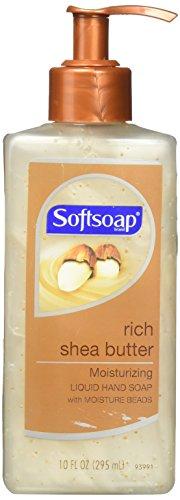 Softsoap Hand Soap, Liquid, Moisturizing, Rich Shea Butter, 10 oz