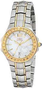 Invicta Women's 6391 Wildflower Collection Diamond Accented Two-Tone Watch