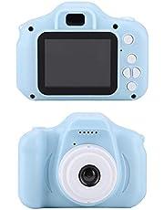 Full HD-camera voor kinderen, X2 Mini Portable 2.0 inch IPS-kleurenscherm Digitale camera voor kinderen HD 1080P-camera, Digitale zoom, Schokbestendig, Veilig voor kinderen, Fotocamera(#1)