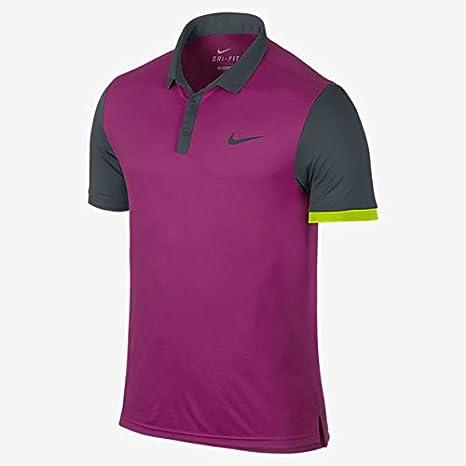 Nike Hombre Camisa de Polo de Tenis Pro Jugadores de Ventaja ...