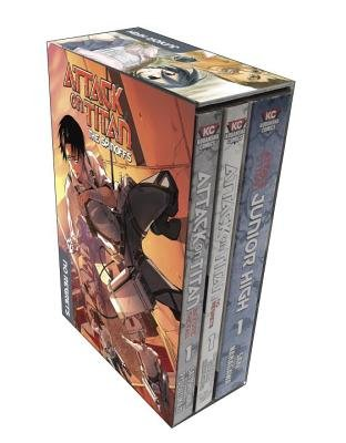 Attack on Titan( The Spinoffs( No Regrets/Before the Fall/Junior High)[BOXED-ATTACK ON TITAN SPINO-3V][Boxed Set] (Attack On Titan A Choice With No Regrets)