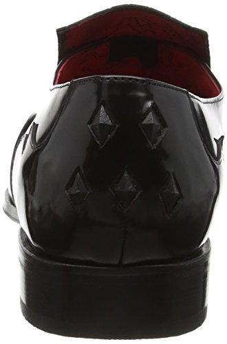 Jeffery West JA17 Scarface, Mocassins Homme, Noir (College Black), 46 EU