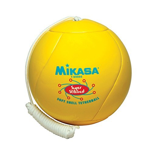 Mikasa Super SoftTouch Institutional Tetherball, Yellow by Mikasa Sports