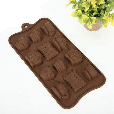XUQIANG Théière Réveil Biscuit Chocolat Moule Biscuit Moule Cuisson Moule Gril
