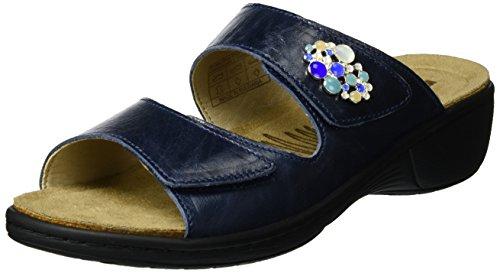 Romika Damen Mainau 06 Pantoletten Blau (Denim)