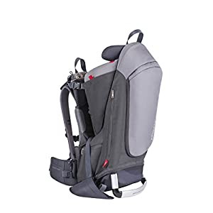 phil&teds Escape Baby Carrier, Charcoal/Charcoal 5