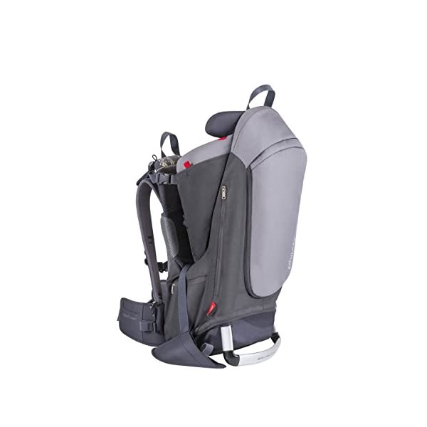 phil&teds Escape Baby Carrier, Charcoal/Charcoal 1