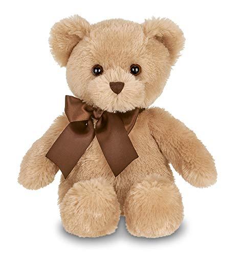 Bearington Lil' Honey Brown Plush Stuffed Animal Teddy Bear, 12 inches (Lil Honey)