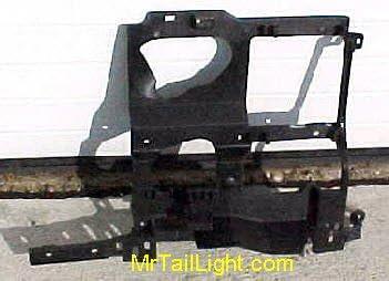 99 02 Chevy Silverado Left Header Panel