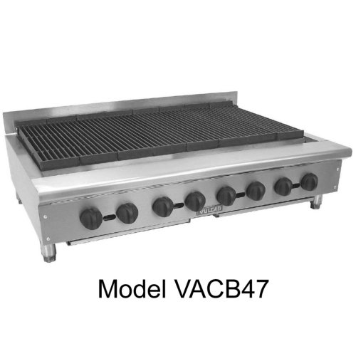 (Vulcan VACB25 Achiever Charbroiler countertop 25-1/8
