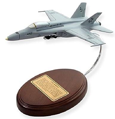 F-18 Hornet Navy Aircraft Model - Classic Desktop Decor - Retirement Military Gifts