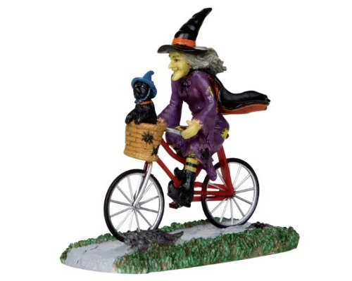 Lemax Spooky Town Be-Witching Bike Ride #32109 -