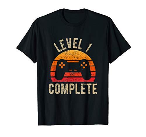 Level 1 Complete Vintage Retro 1st Wedding T-Shirt