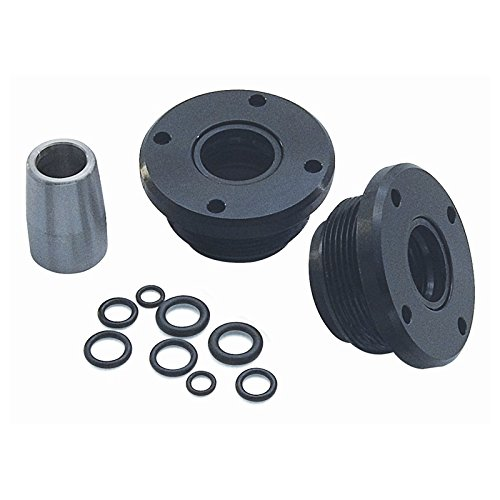 SeaStar HS5167 Front Mount Hydraulic Steering Cylinder Seal Kit, Withouth (Cylinder Screw Set)