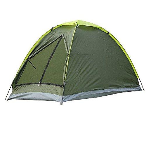 YOPEEN Zweipersonen-Strand-Zelt UV-Beständiges im Freien kampierendes Zelt-Strand-Ausrüstungs-Einzelschicht-Fischen-Zelt mit Tragetasche für Das wandernde Reisen