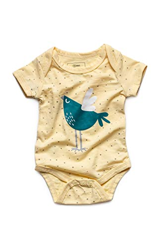 Newborn 9-12M Bodysuit For Boy/Girl|Organic Bamboo Infant Clothes|Funny Cute Unisex Baby Gift Items