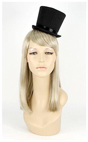 [Mini Steampunk Top Hat (Black)] (Mini Top Hats)