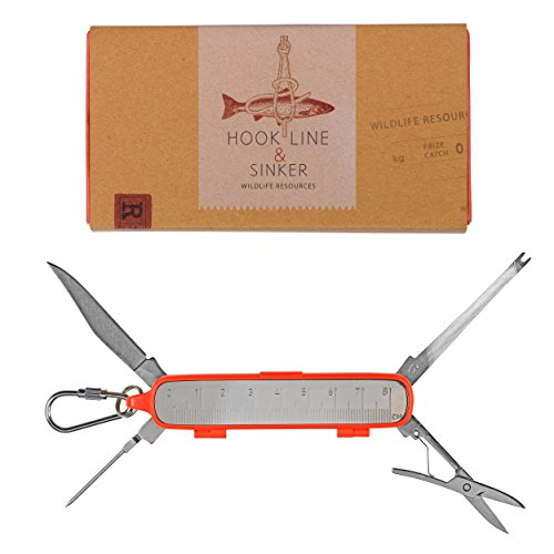 (Wild and Wolf Hook Line & Sinker Fisherman's Tool, Multicolor)