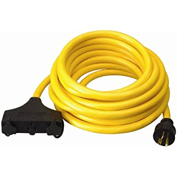 Coleman Cable 01911 10 3 Generator Power Cord With L5 20p
