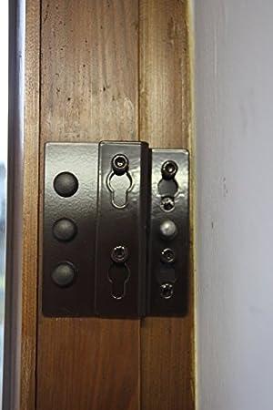 Einbruchschutz Fur Fenster Und Terrassenturen Esb 10 Braun Zum