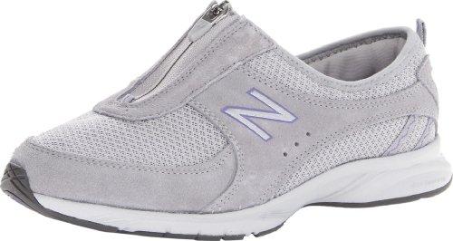 New Balance Womens WW565 Everlight Zip Walking Shoe Grey/Purple