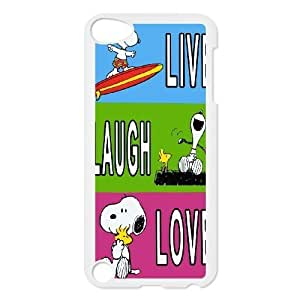 Custom High Quality WUCHAOGUI Phone case Cute & Lovely Snoopy Protective Case FOR Ipod Touch 5 - Case-6