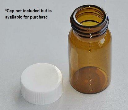 20mL Screw-Thread Storage Vial - Amber [100 vials/box]