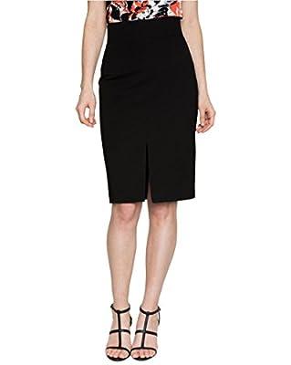 LE CHÂTEAU Ponte High Waist Solid Pencil Skirt