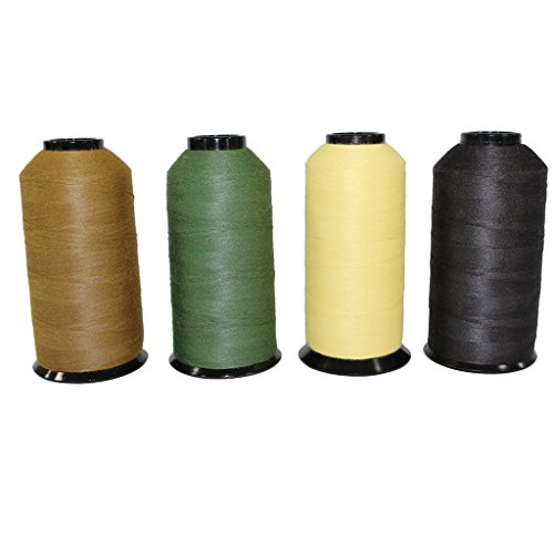 - Kevlar Thread Sewing Size 30/3 - SGT KNOTS - 3 Ply Military Grade - Clothing, Leather, Canvas, Gear & Boot Stitching Repair - Crafting, DIY Projects, Commercial, Industrial (4 oz, Natural)
