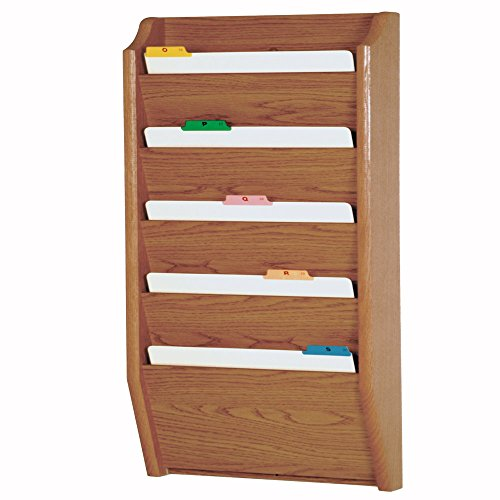 et File Holder, Legal Size, Light Oak (Oak File Holder)