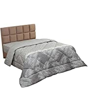 Al Maamoun Multi Patterned Quilt Cover - 240x240 cm