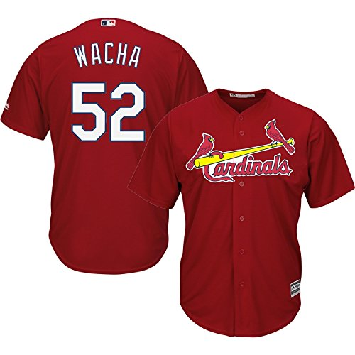 Michael Wacha St. Louis Cardinals #52 MLB Youth Cool Base Alternate Jersey Red (Youth XLarge 18/20)