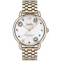 Relógio Coach Feminino Aço Dourado - 14502811