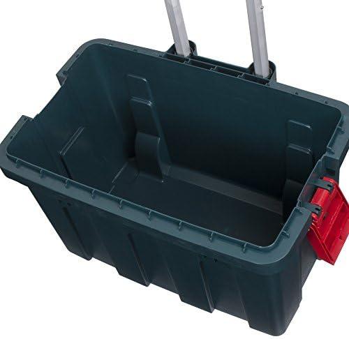 Storage Trunk w// Wheels /& Extendable Handle Rolling Garage Storage Box RV-650