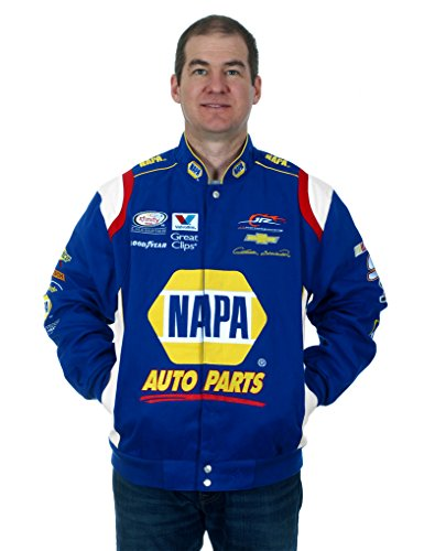 Chase Elliot NAPA NASCAR Jacket (X-Large) (Pet For Sponsor Christmas A)