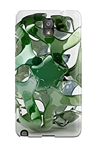 Forever Collectibles Cgi Abstract Cgi Hard Snap-on Galaxy Note 3 Case