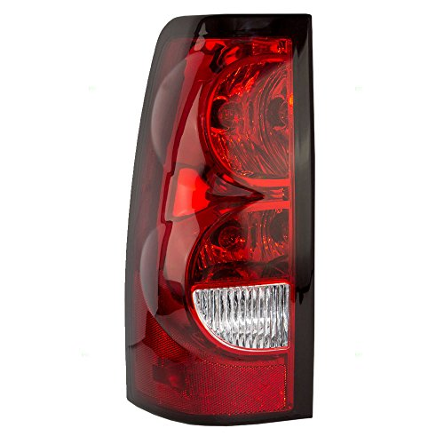 Drivers Taillight Tail Lamp Lens Replacement for Chevrolet Pickup Truck 19169004 (New Tail Light Lens)