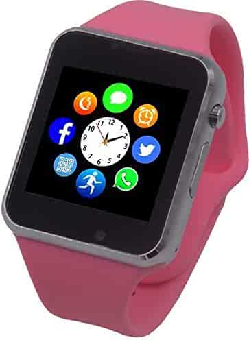 Funntech Smart Watch for Kids with Pedometer Bluetooth Unlocked 2G GSM Phone Call 1.54 Inch Touchscreen Camera