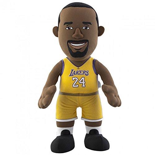 Nba Los Angeles Lakers Kobe Bryant Player Plush Doll  6 5 Inch X 3 5 Inch X 10 Inch  Yellow