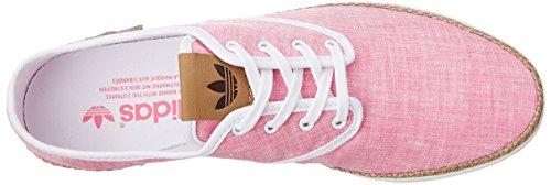 adidas Adria PS - zapatilla deportiva de lona mujer Rose, marron clair et blanc