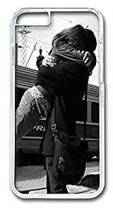 ACESR Big Hug Cute iPhone Case PC Hard Case Back Cover for Apple iPhone 6 4.7inch