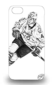 Hard Plastic Iphone 5c 3D PC Case Back Cover Hot NHL Tampa Bay Lightning Vincent Lecavalier #4 3D PC Case At Perfect Diy ( Custom Picture iPhone 6, iPhone 6 PLUS, iPhone 5, iPhone 5S, iPhone 5C, iPhone 4, iPhone 4S,Galaxy S6,Galaxy S5,Galaxy S4,Galaxy S3,Note 3,iPad Mini-Mini 2,iPad Air )