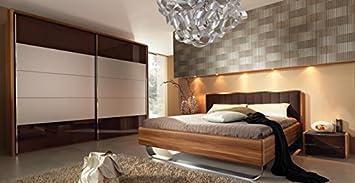 Welle Insua Komplett Schlafzimmer walnuss: Amazon.de: Bürobedarf ...