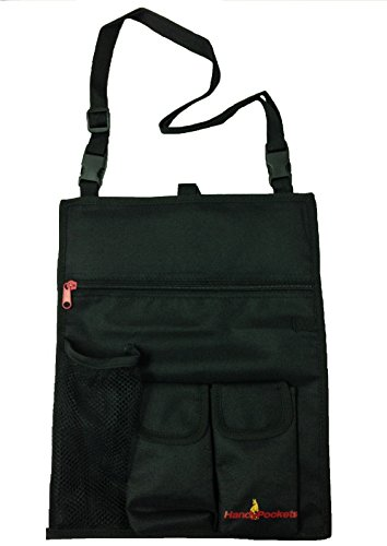 HandyPockets SidePocket Mobility Scooter Organizer and Tote Bag (Black) by HandyPockets