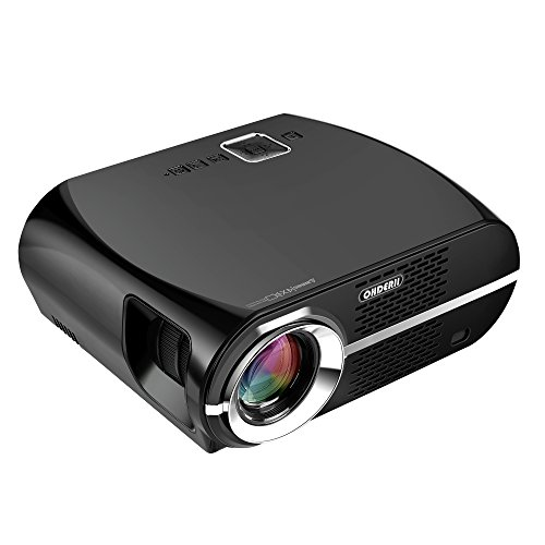 Projector, Ohderii Efficiency Multimedia Home...