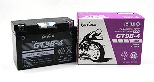 ジャパン GSユアサ バッテリー GT9B-4 (GY-C) 液注入充電済み (VRLA 制御弁式) MFメンテナンスフリー B014JOPKYS