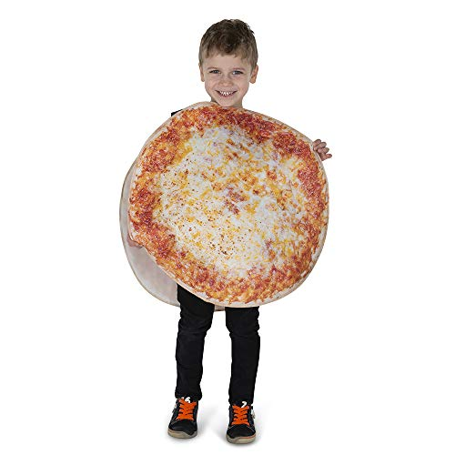 Dress Up America Pizza Pie Costume for Kids - Product Comes Complete with: Tunic (Kids)