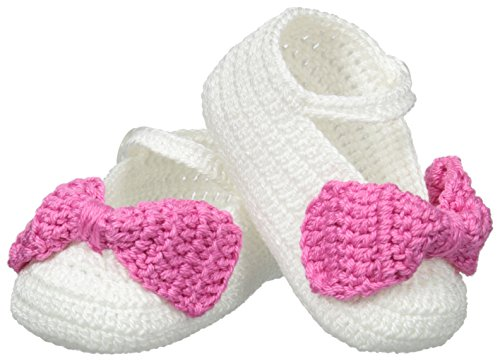 Baby Booties to Baby Shoes: Jefferies Baby Socks Newborn Mary Jane Bow Crochet Bootie