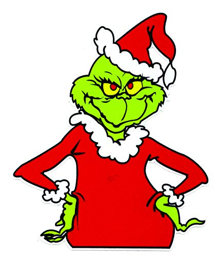 Grinch that Stole Christmas Sticker Decal Dr. Seuss Outdoor Durable 4.5t x - Decal Christmas Sticker